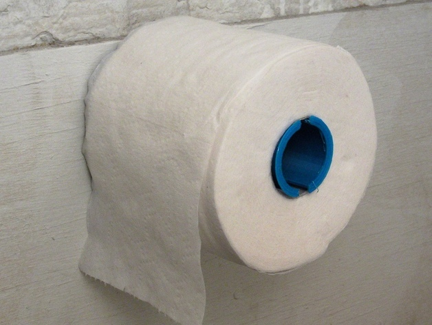 厕纸卷夹模型