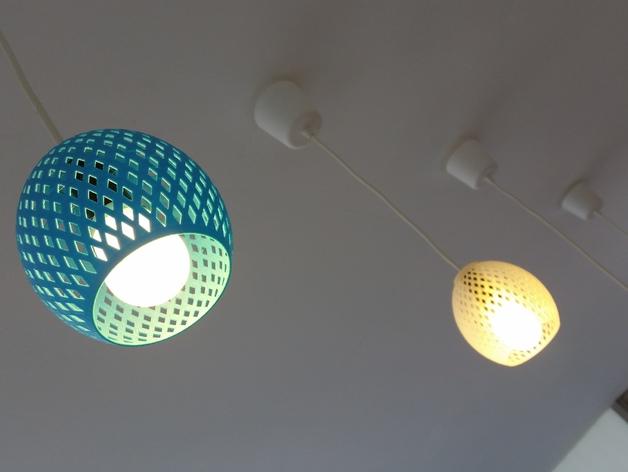 经典圆形灯罩模型
