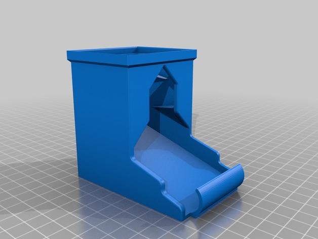 可伸展的电池盒模型