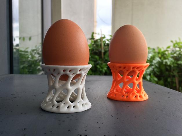 迷你镂空蛋托模型 3D打印模型渲染图