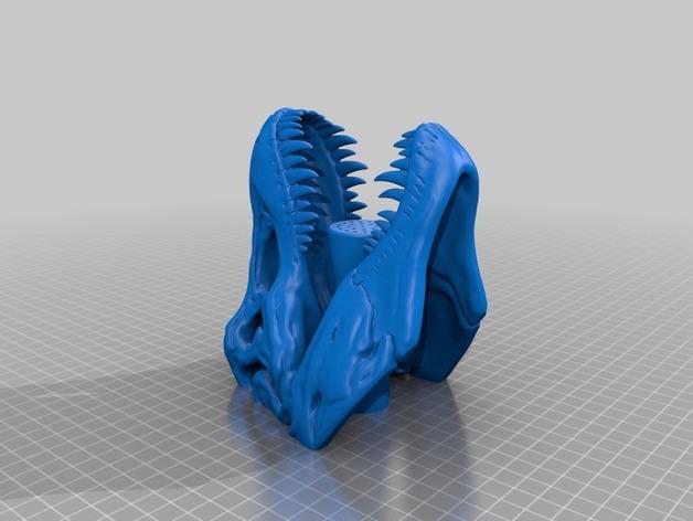 恐龙形淋浴喷头模型