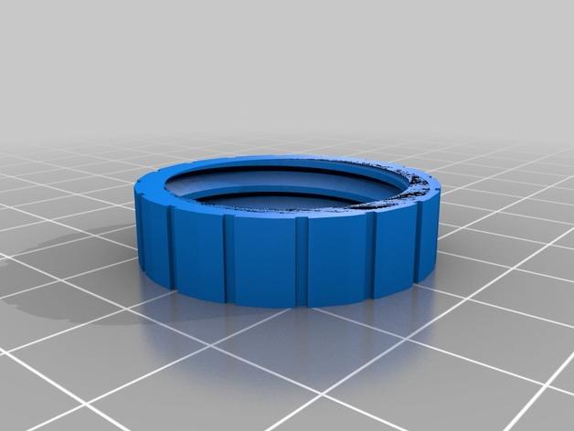 螺旋形收纳盒模型