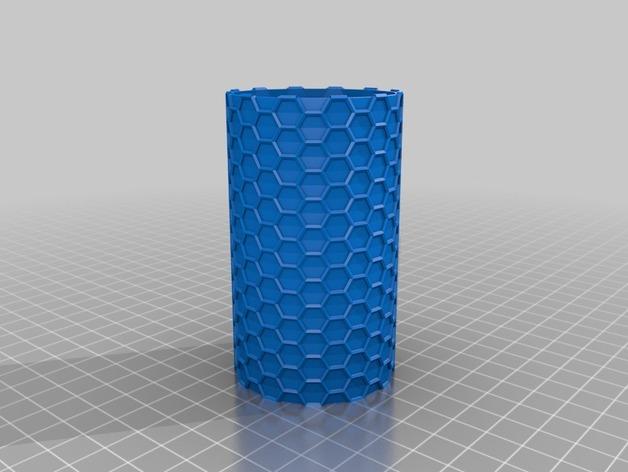 纳米管形容器模型