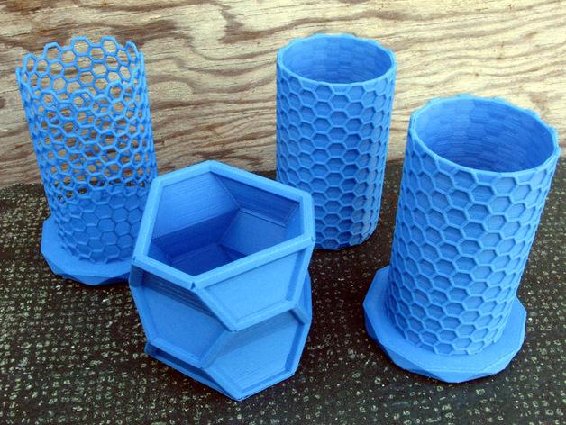纳米管形容器模型 3D打印模型渲染图