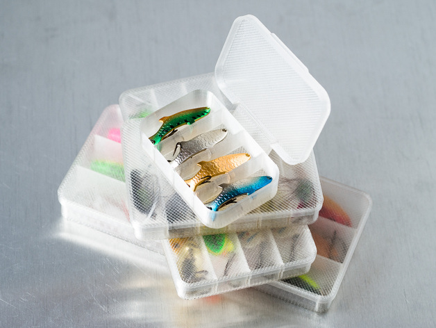 定制化迷你小盒模型 3D打印模型渲染图