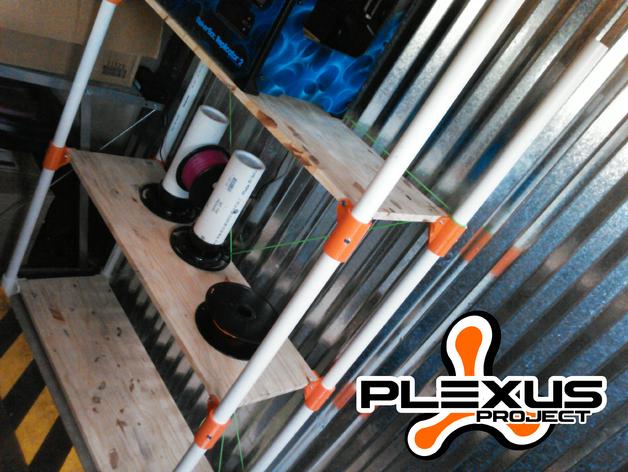 PLEXUS 1角架模型