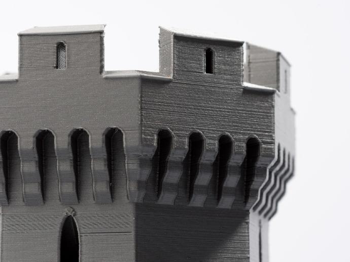城堡形鸟笼模型