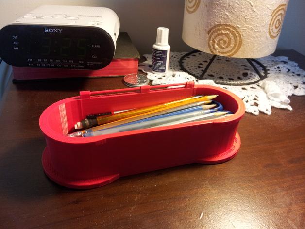 迷你铅笔盒模型