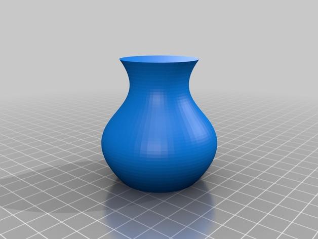 定制化贝塞尔花瓶模型