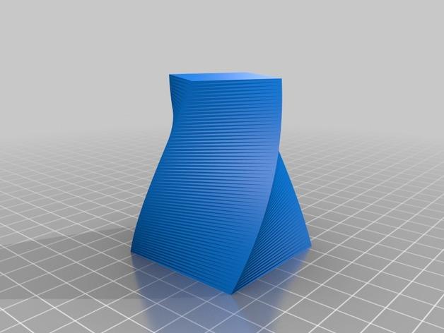 定制化多边形花盆模型