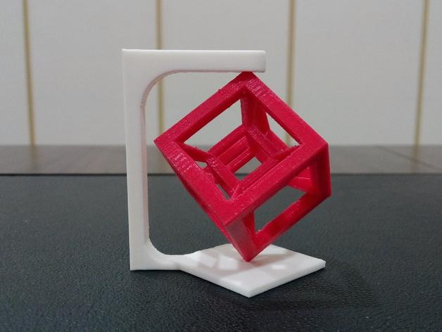 桌面摆设小玩意 -- 立方体 3D打印模型渲染图