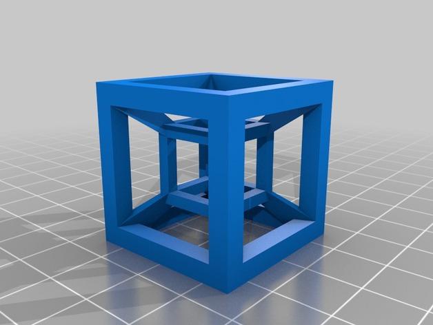 桌面摆设小玩意 -- 立方体