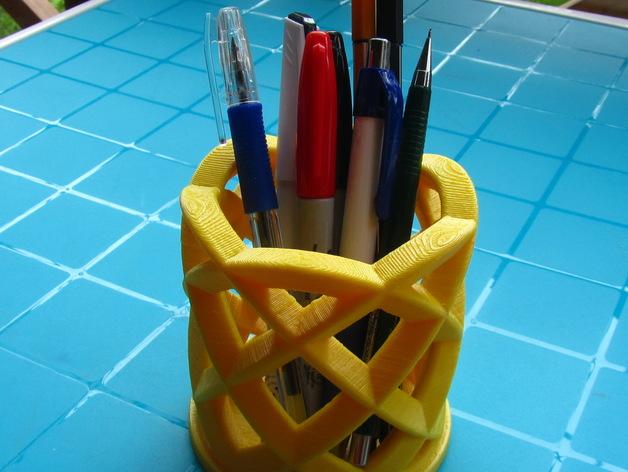 办公室笔筒模型#5
