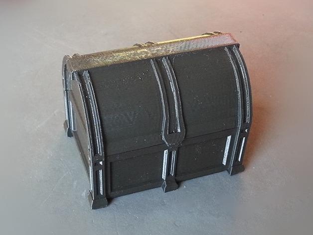 海盗宝藏箱模型