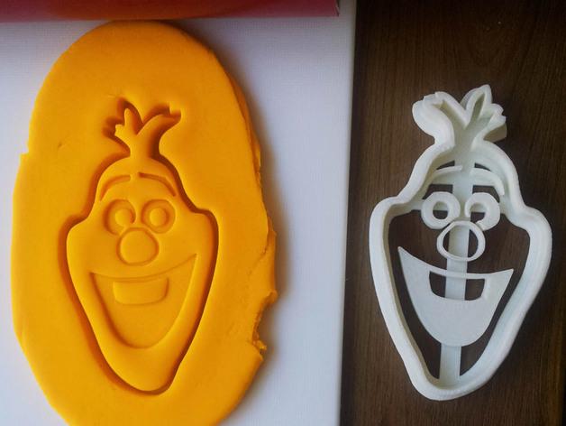 冰雪奇缘雪宝饼干模型切割刀