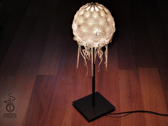 迷你水母灯罩模型