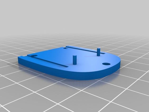 迷你桌面台灯模型