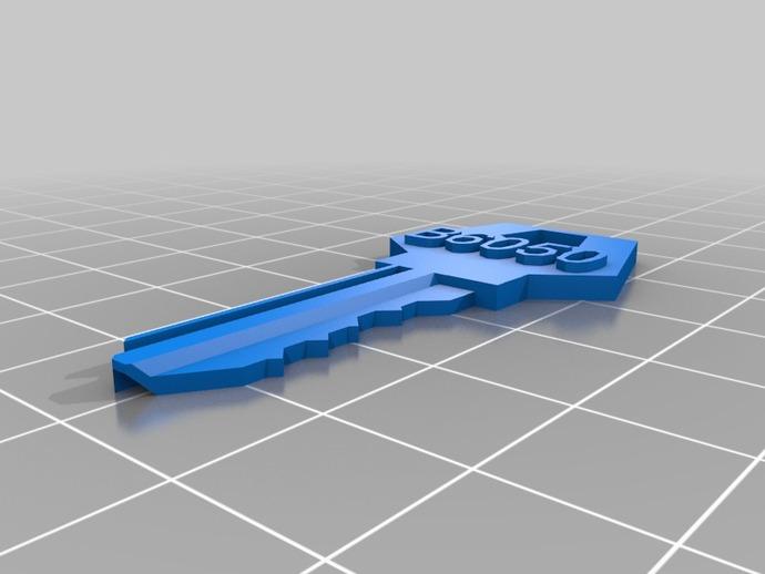 定制化房屋挂锁钥匙模型