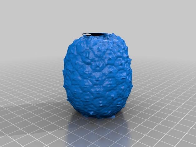 迷你菠萝模型