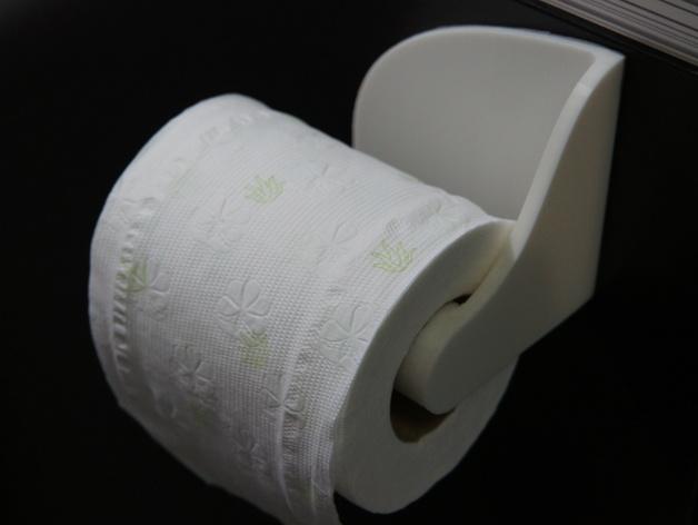 厕纸纸架模型