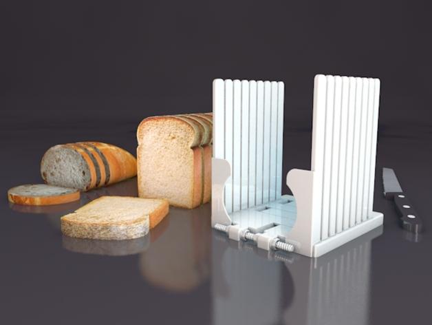 面包切片机模型