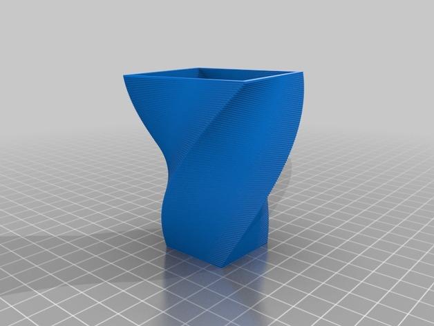 花盆/花瓶/笔筒/酒杯模型