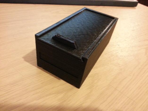 简易储藏盒模型