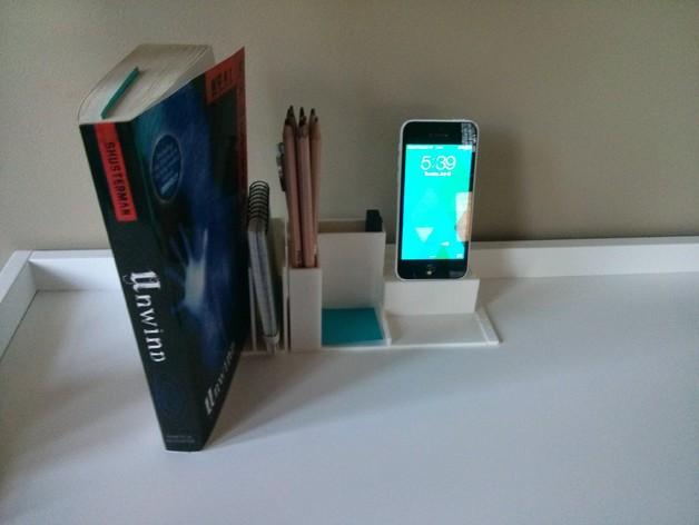 模块化书桌文具盒模型