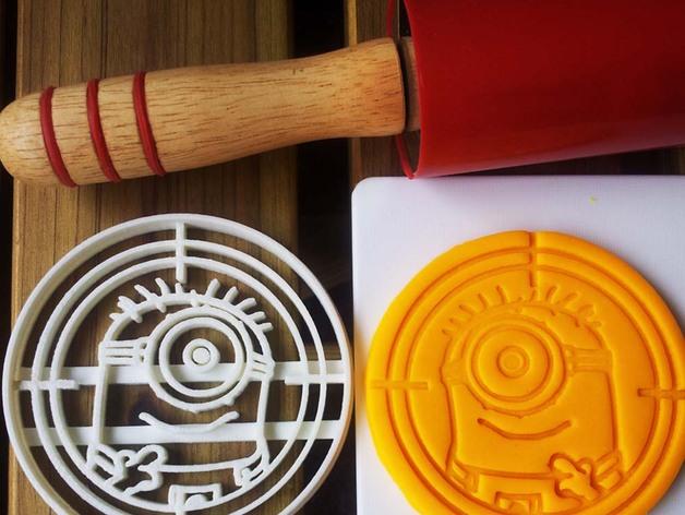 小黄人饼干切割刀模型