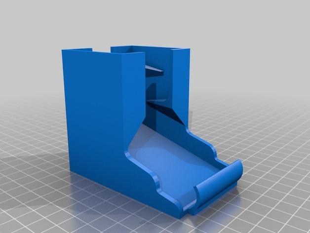 桌面电池盒模型