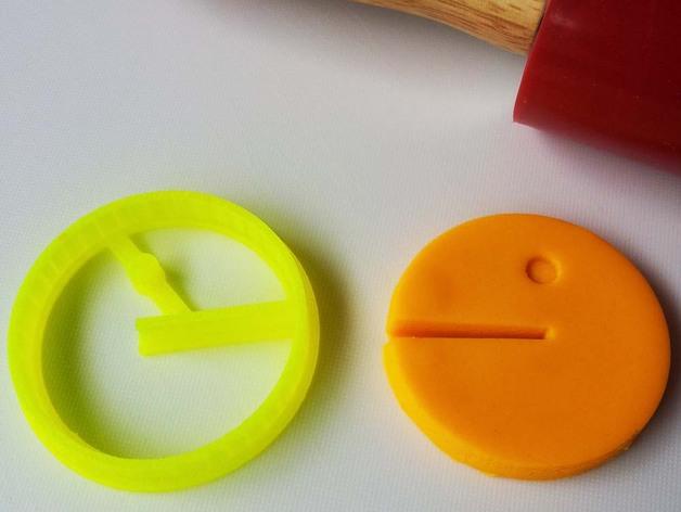 吃豆人饼模型切割刀
