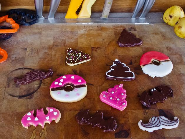饼干模型切割刀 3D打印模型渲染图