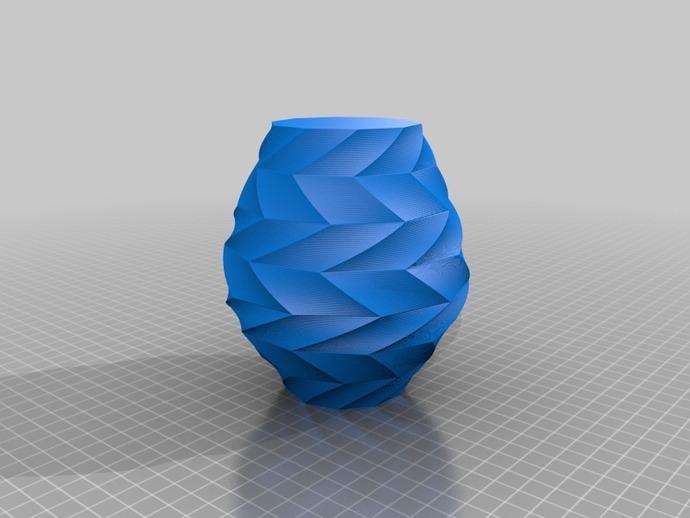 Z字形花瓶模型