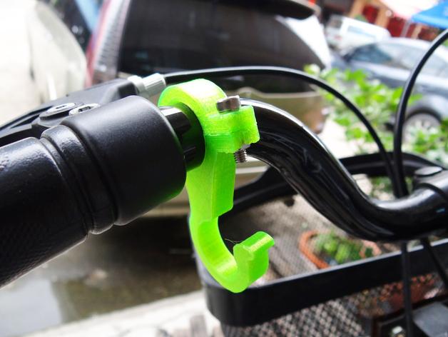 自行车挂钩零部件模型 3D打印模型渲染图