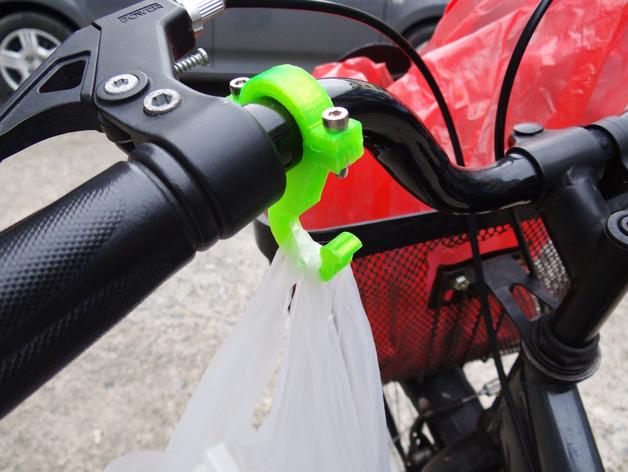 自行车挂钩零部件模型