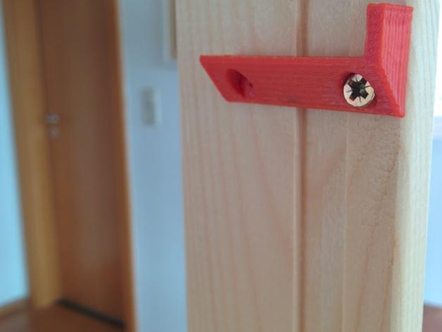 搁板固定夹 -- 可用来固定木板