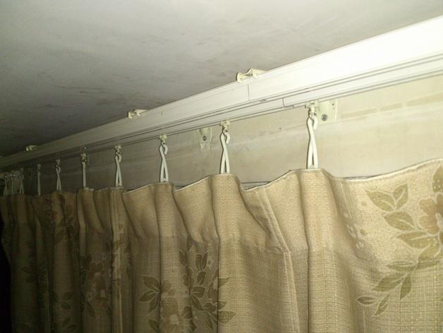 简易窗帘挂钩