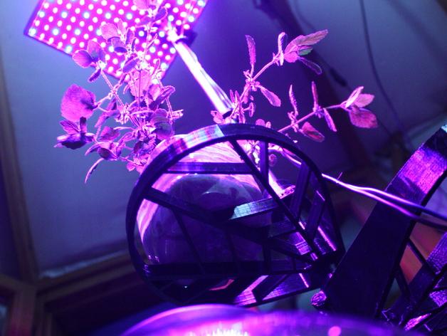 家用自动化水培系统 3D打印模型渲染图