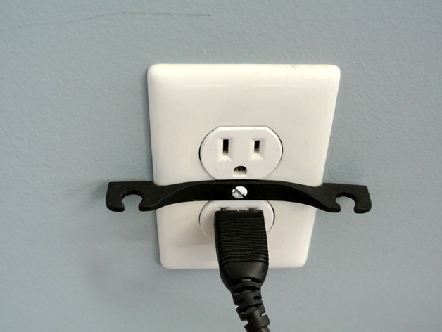 壁式插线板线夹