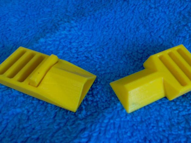 简易皮带扣 3D打印模型渲染图