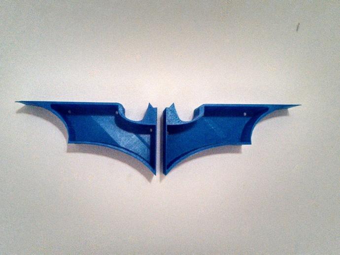 蝙蝠形壁挂式搁板