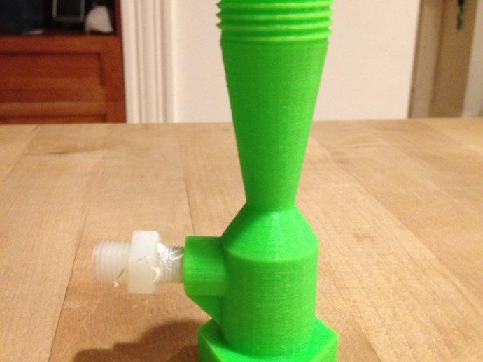 花园浇水用软管抽水泵 3D打印模型渲染图