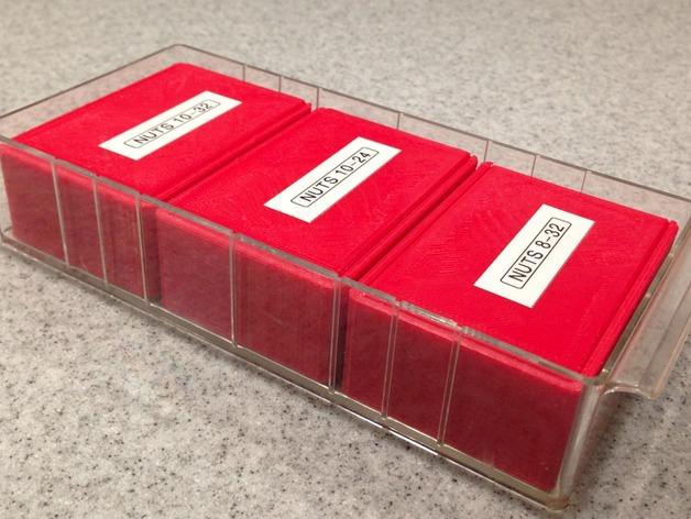参数化滑盖零件盒