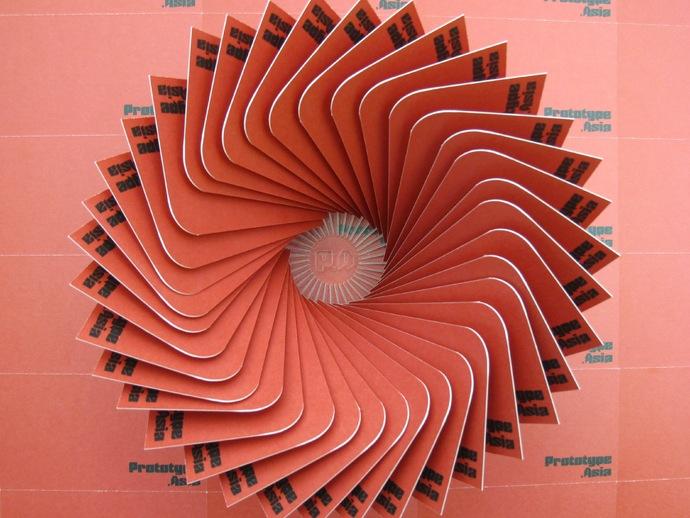Cardrousel:装饰性名片夹 3D打印模型渲染图