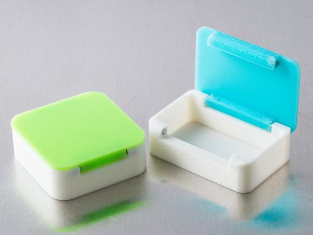 定制化磁力小盒 3D打印模型渲染图