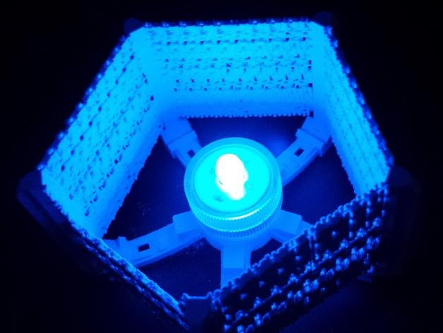 五边形灯罩/光笼15b 3D打印模型渲染图