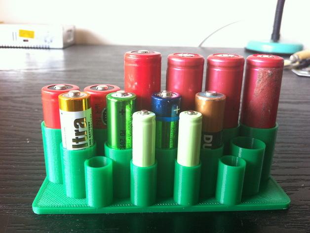 迷你电池盒