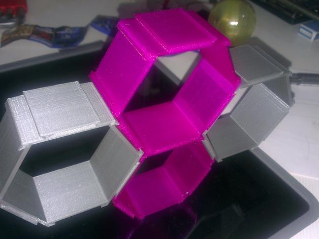 五边形机器人架