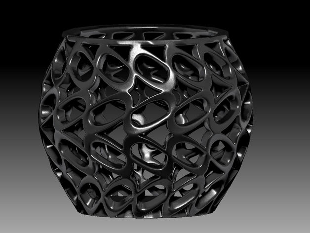 环形镂空花瓶