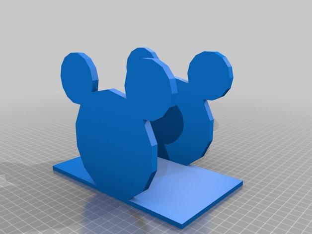 米老鼠餐巾纸架